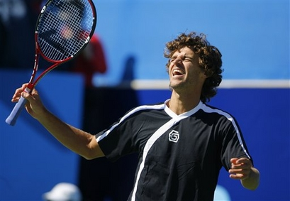 kuerten at the 2007 Tennis Channel Open