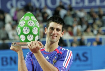 djokovic at metz - 2006