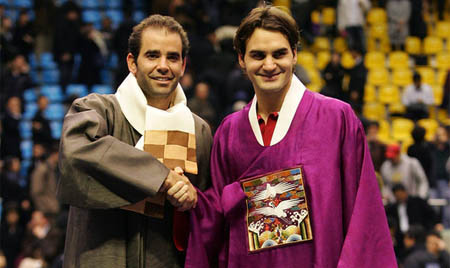 federer - sampras - exhibition