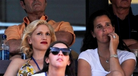 Gwen Stefani - Mary Joe Fernandez - Indian Wells 2008