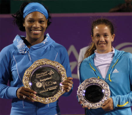 Serena Williams, Patty Schnyder, Bangalore 2008