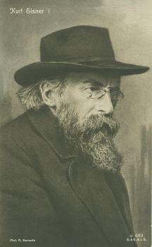 Kurt Eisner 1919 (von Robert Sennecke)