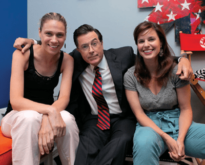 Stephen Colbert with