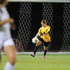 Connor Archard / Sun File Photo Despite the 2-0 loss to Princeton, junior goalkeeper Kelsey Tierney had a season-high seven saves.