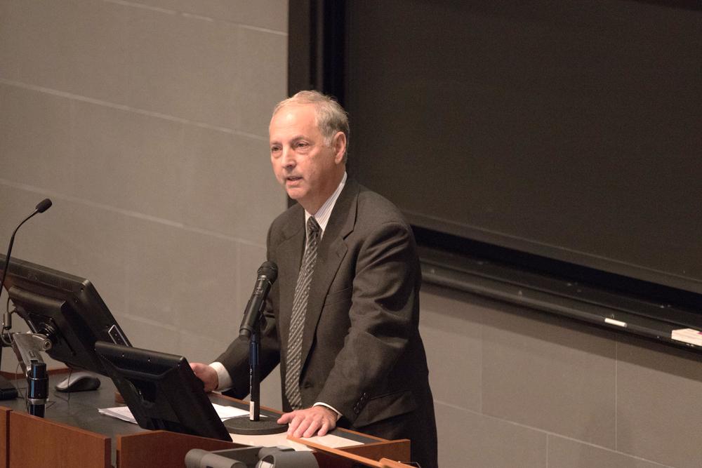 Prof. David Shalloway, molecular biology and genetics, urged trustees to divest last October.
