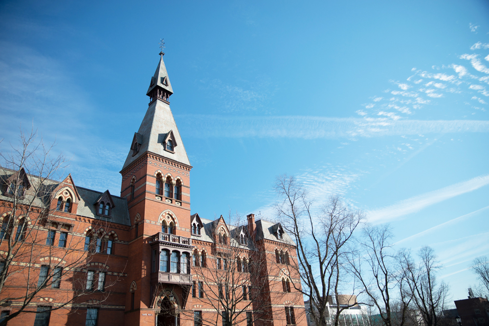 Sage Hall is home to the Samuel Curtis Johnson Graduate School of Management, one of the three schools that will become part of the new College of Business.
