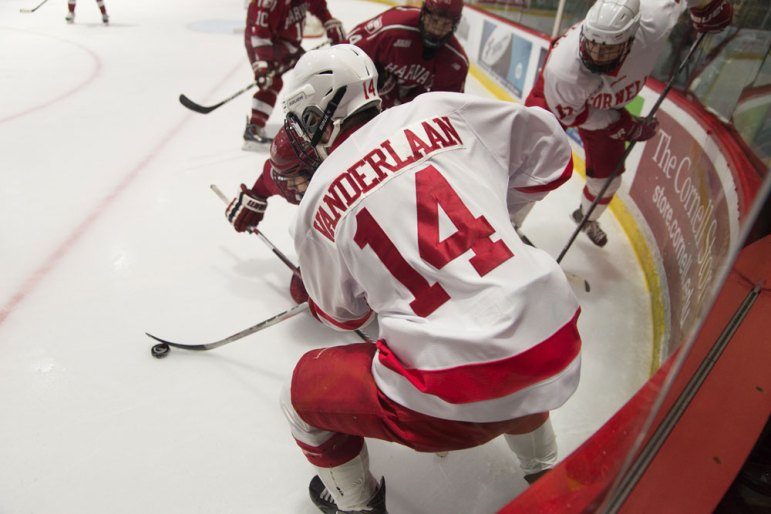 Up next for Mitch Vanderlaan and the Red are St. Lawrence and Clarkson.