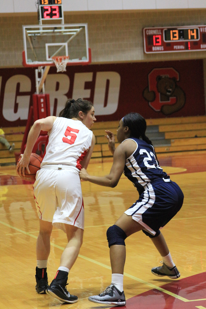 Senior Maddie Campbell will play her final game in Newman Arena this Saturday.