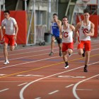 Junior distance runner James Gowans (not pictured above) became one of 459 people in the world to run the mile in under four minutes. He now holds the Cornell record for the mile event.