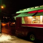A classic freshman late night favorite food truck located outside Balch Hall.