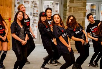 The BreakFree hip hop dance group was one of over 20 organizations that performed at Saturday's Asia Night in Duffield Hall.