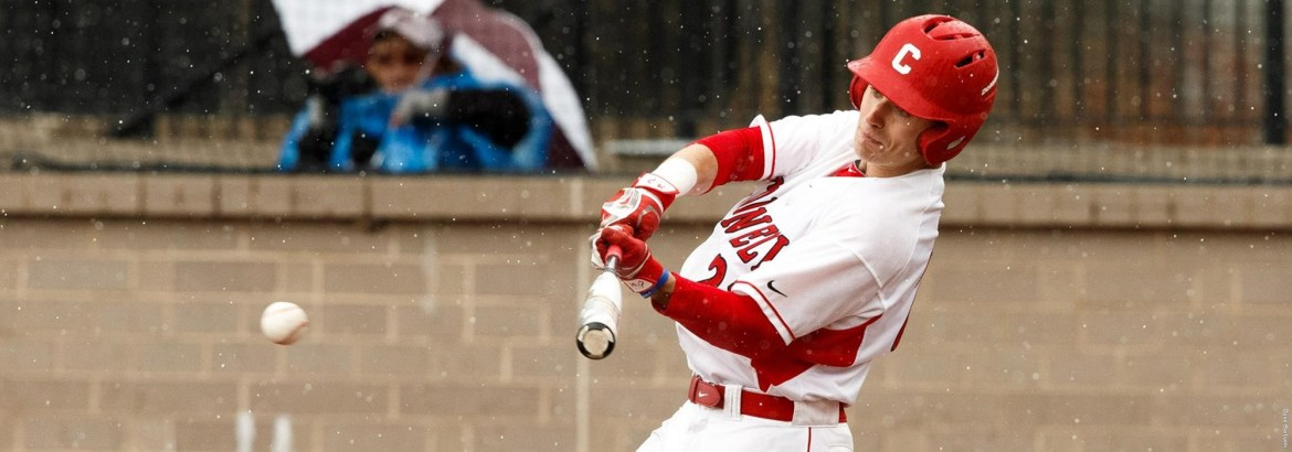 Men's baseball lost each game this past weekend by at most two runs, with two games going to extras.