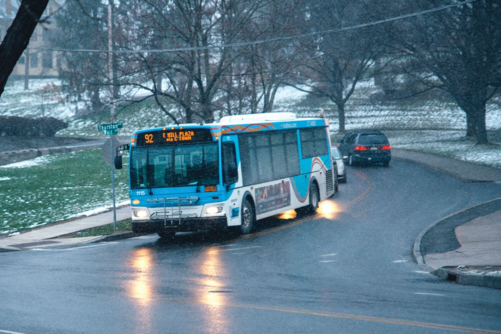 TCAT service in Collegetown has returned to normal.