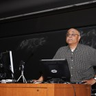 Prof. Ravi Kanbur, applied economics and management, spoke about how fighting climate change can disproportionately affect the poor in a lecture Monday,