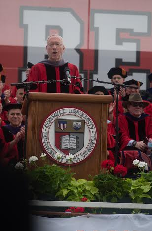 Kotlikoff addresses the graduating class at commencement Sunday.