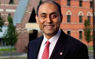 Previously Dean of the Johnson School, Soumitri Dutta was named to head the College of Business as dean in February.