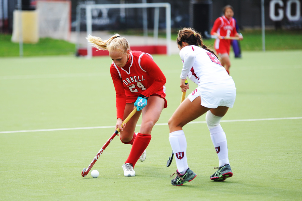 Forward Katy Weeks, who notched eight goals and five assists last year, returns for her senior season this year.