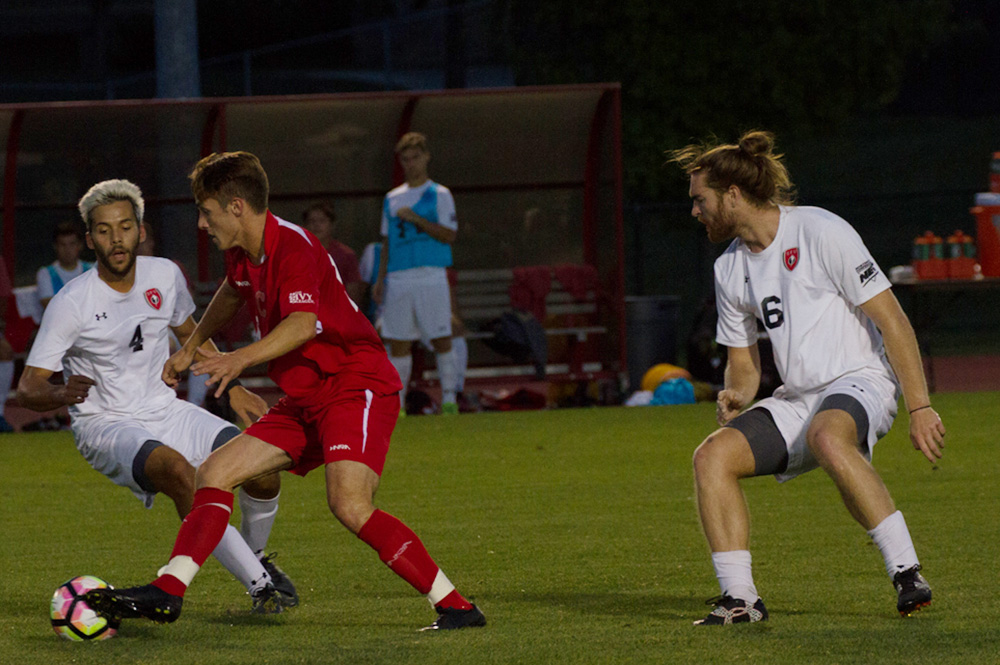 After blowout loss to Harvard, men's soccer bounced back against Colgate and earned its first win of the season.