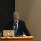 Visiting Prof. Seth Lerer delivers the annual M.H. Abrams Lecture in Goldwin Smith Hall Thursday evening.