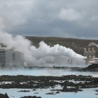 Iceland's Svartsengi geothermal plant, which abuts the Blue Lagoon spa.