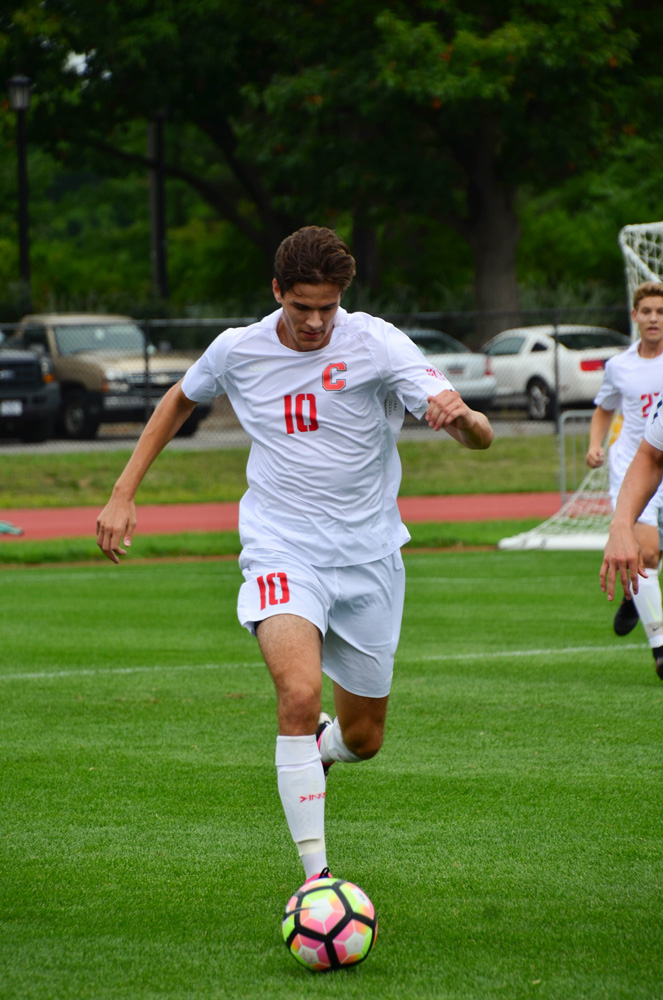 The men's soccer team hopes to finish its season on a high note against Dartmouth.