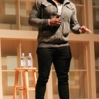 Bumpy road | Michael Sam spoke about his experience as the first openly gay NFL player in a lecture at Statler auditorium on Monday.