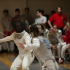 It's been almost 10 years since Cornell fencing held a tournament on campus, but the Red did not disappoint on home turf.