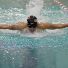 The men's swimming and diving team will look to close out the regular season on a high note Saturday at Brown.