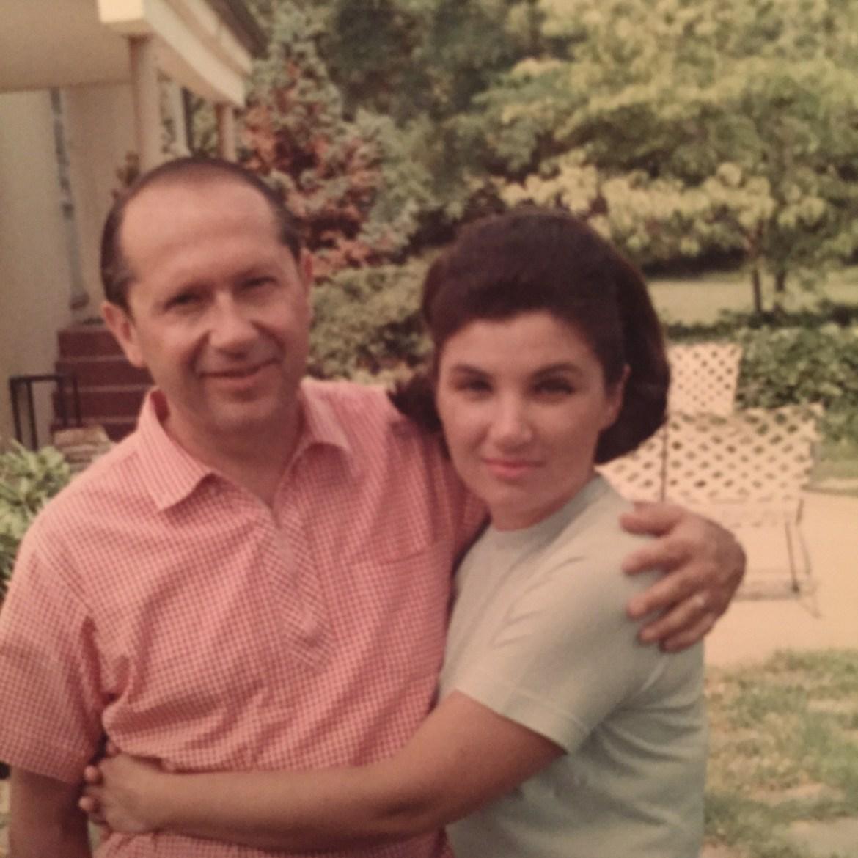 Captain Karasik and his wife, Olga.