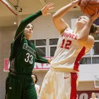 Freshman Samantha Widmann supported the Red with 12 points off the bench. The Red failed to fully complete the 18-point comeback against Dartmouth.