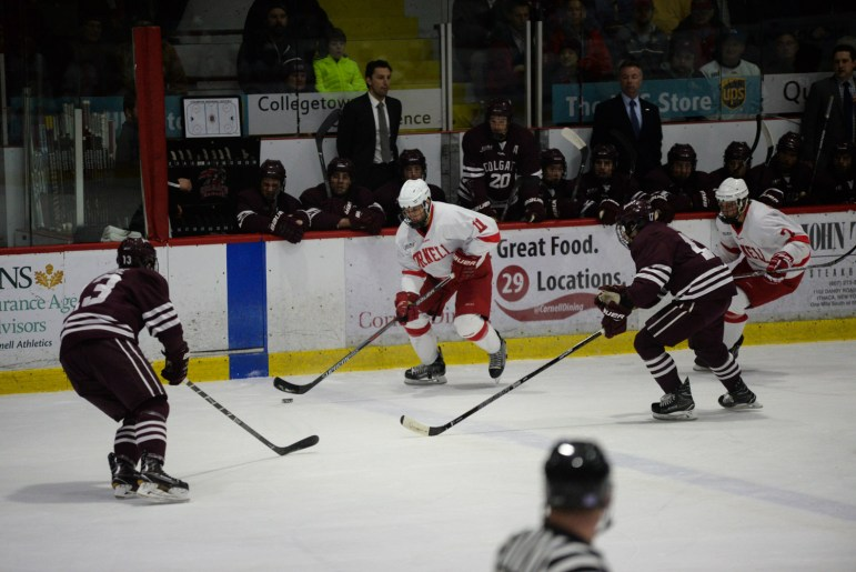 Cornell has the chance to play spoiler this Saturday as Union is vying for the league's top spot.