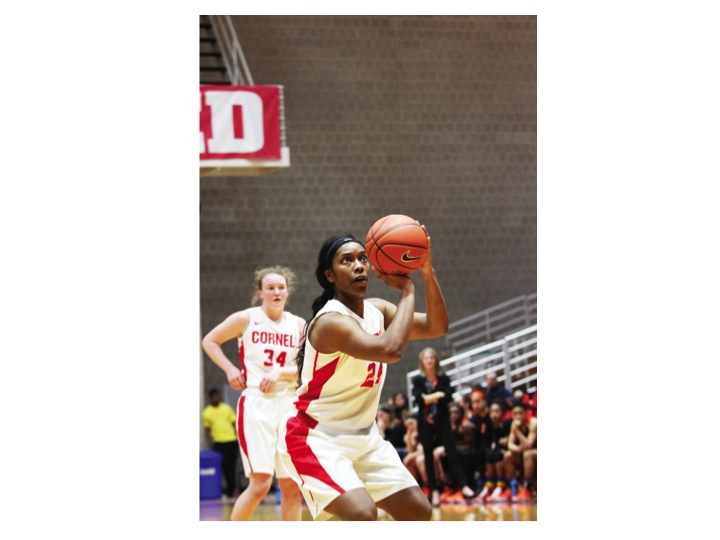 Nia Marshall is now the all-time leading scorer in Cornell women's basketball history.