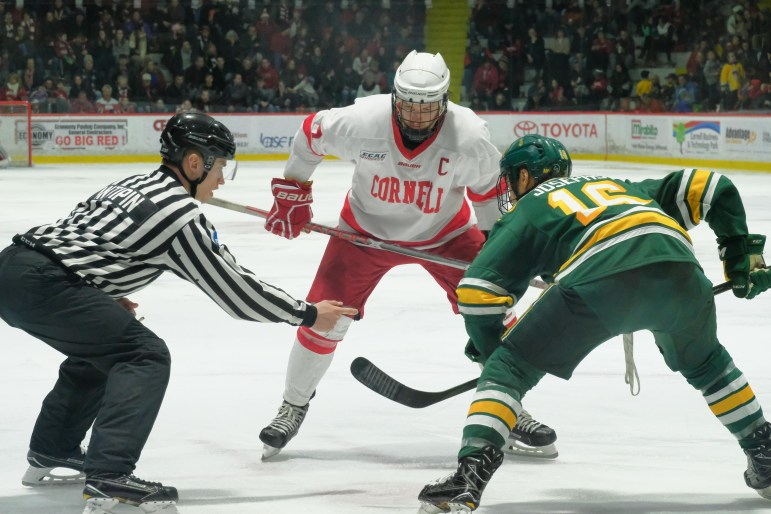 The faceoff circle was crucial in the 2-1 victory, and Cornell led in that department 36-26 on Saturday.