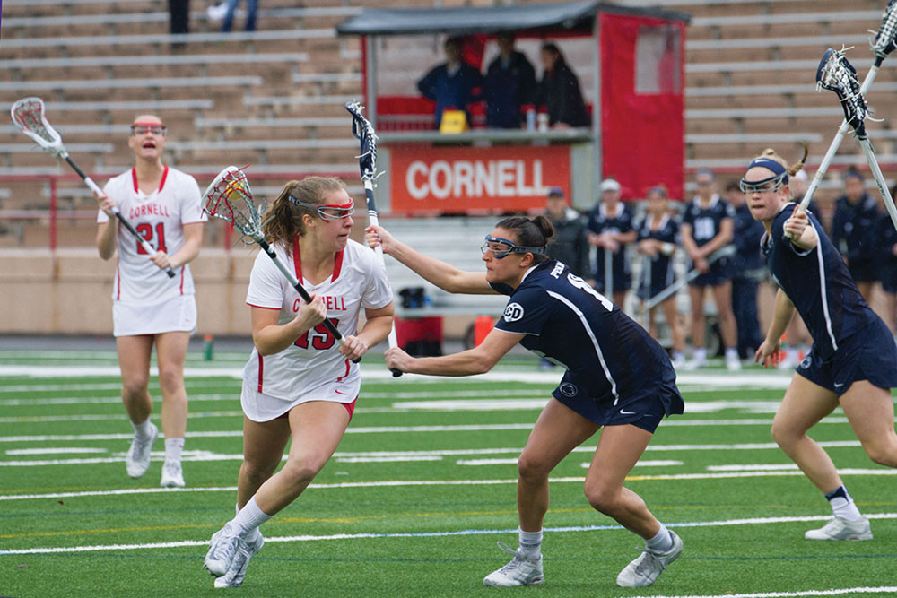 The Red began inter-Ivy play with a crucial win over Penn.