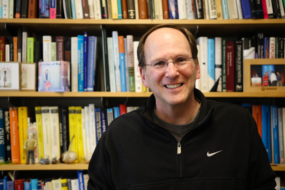 Math professor Steven Strogatz hopes to share his joy for math with his students.