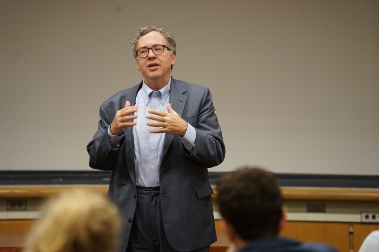 Peace process expert David Makovsky said at a panel hosted by Cornell Hillel on Tuesday that Israel and Palestine are closer to peace than at any point in history.