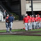 The Cornell bats struggled all weekend as the team averaged just one run per game.