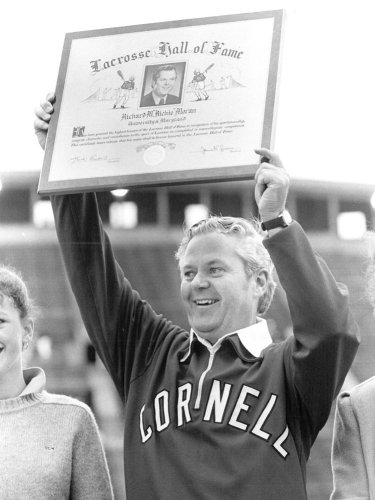 Moran was inducted into the U.S. Lacrosse Hall of Fame 1983 for his playing days at Maryland.