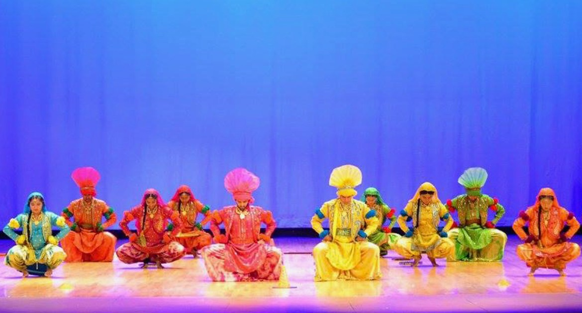 This year marks the 20th for Cornell's Bhangra Team.