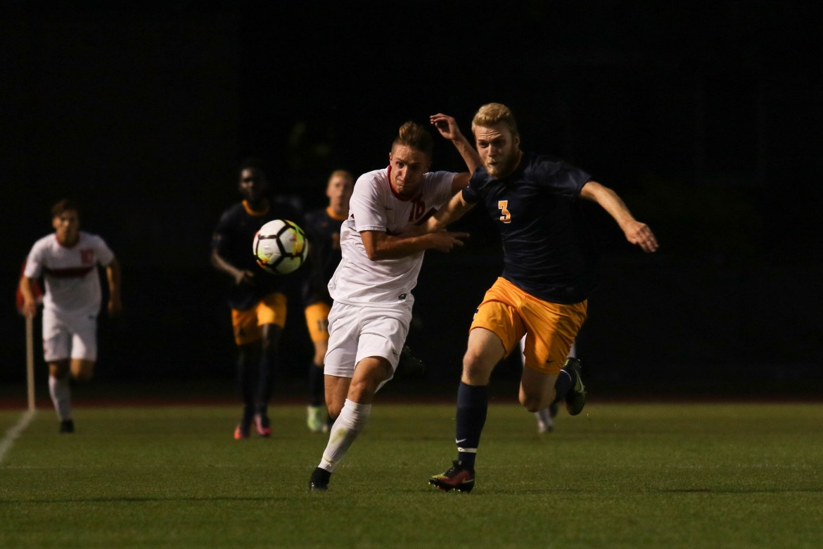 Canisius' second half goal was one too many for the Red in its 2-1 loss.
