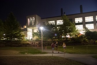 The Engineering Quad has been one among a number of construction projects on the Cornell campus.