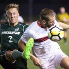 The men's soccer team didn't play its best game but still topped Binghamton Tuesday night.