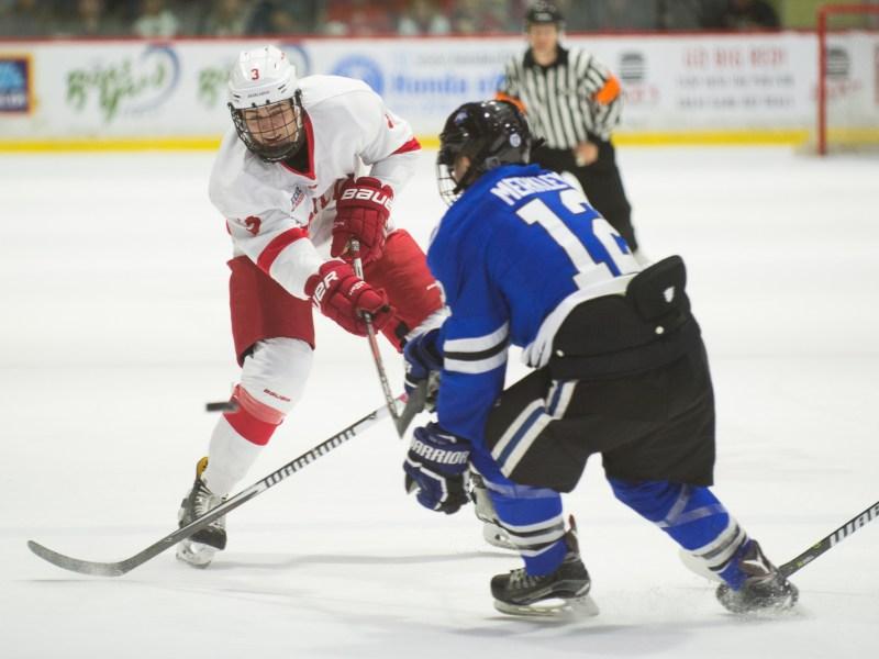 Freshman defneseman Cody Haiskanen was one of just several freshmen who impressed opening weekend.