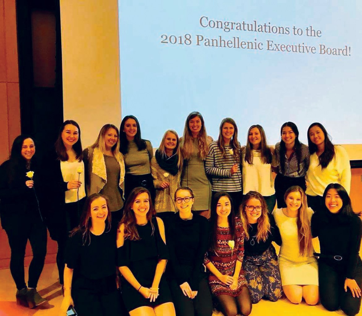 The Cornell Panhellenic Council elected a new president, vice president and additional executive board members on Sunday.