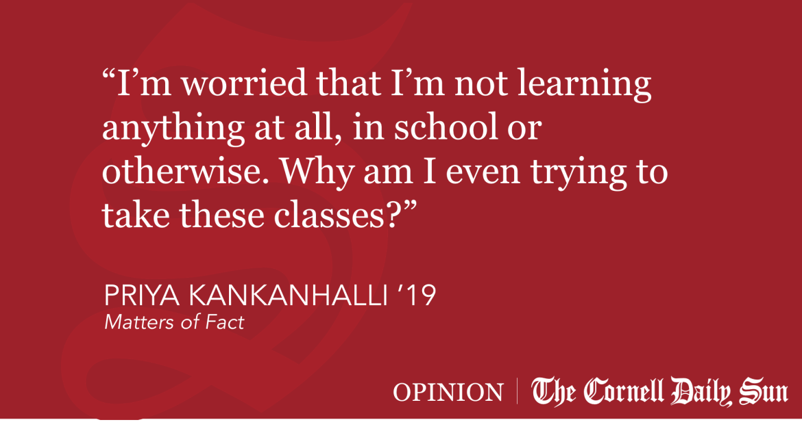 KANKANHALLI | I Never Learn