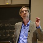 "Prof. Paul Pierson shared his thoughts on American polarization during his lecture, which was the first in the ""Difficulty of Democracy"" series. He ended his lecture with a rapped parody of 'Hamilton.'"