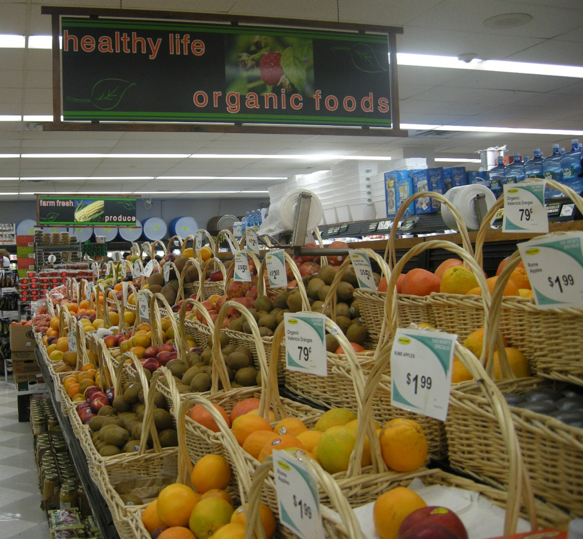 The study focused on 11 supermarkets in rural and urban areas in the Northeast.