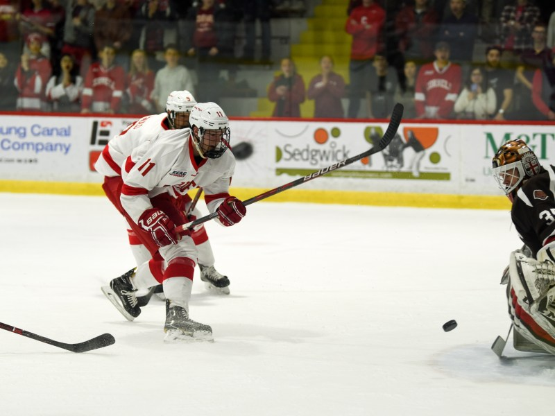 Columnist Kevin Linsey thinks the ECAC tournament shouldn't be played in Lake Placid.