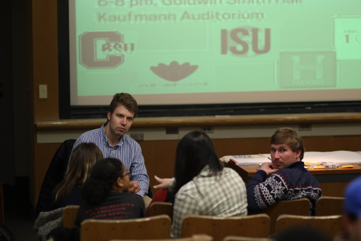 Students gathered on Wednesday to discuss the progress of the Presidential Task Force created by Martha Pollack last fall.
