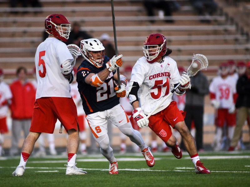 Jeff Teat is dominating college lacrosse — and he's just a sophomore.